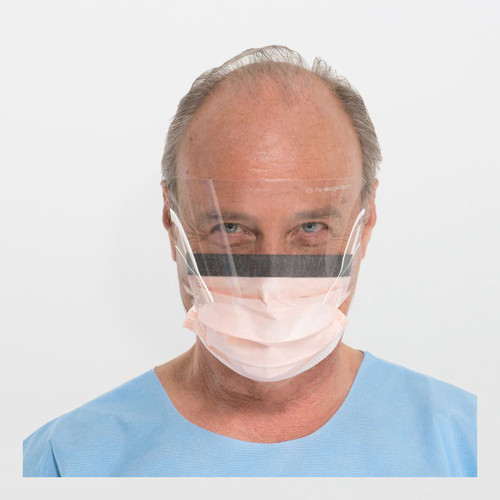 Kimberly-Clark FluidShield Fog-Free Procedure Masks with SplashGuard Visor