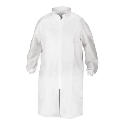 Kimberly-Clark Kimtech A8 Zipper Lab Coat