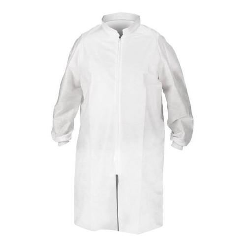 Kimberly-Clark Kimtech A8 Zipper Lab Coat