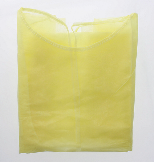 Disposable Yellow Isolation Gown (SOS PG-001)