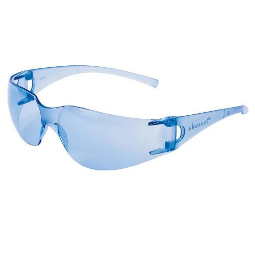 KleenGuard Element Visitor Safety Glasses (Light Blue Uncoated)