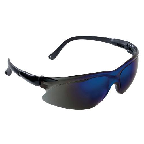 KleenGuard Visio Economy Safety Glasses (Blue Mirror Uncoated)