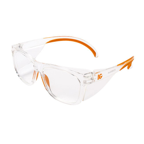 KleenGuard Maverick Clear Safety Glasses (Clear Anti-Fog)