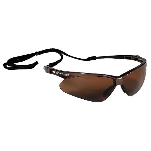 KleenGuard Nemesis Polarized Safety Glasses (Polarized Brown)