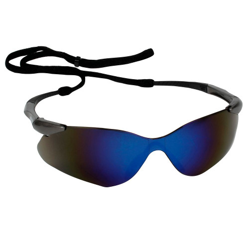 KleenGuard Nemesis VL Safety Glasses (Blue Mirror Anti-Fog)