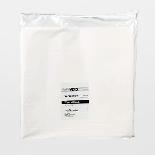 "TX622 VersaWipe 12"" x 12"" Cellulose and Polyester Cleanroom Wiper"