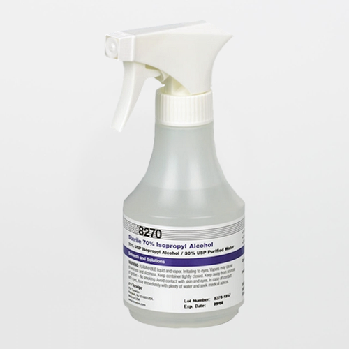 TX8270 Sterile 70% Isopropanol Alcohol Solution (8 oz.)
