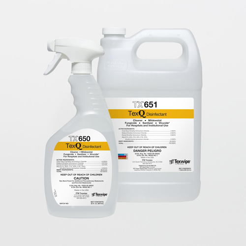 TX650 TexQ Disinfectant Ready-to-Use 22 oz. Trigger Spray