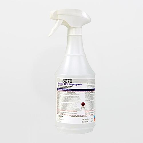 TX3274 Sterile 70% Isopropanol Alcohol Solution, Mini-Case (16 oz.)