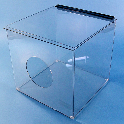 "12""W x 12""H x 12""D - Cleanroom Dispenser with Opening (Shelf or Metro Rack)"