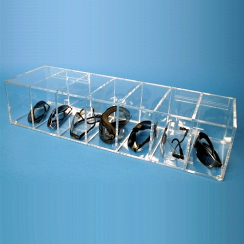 Cleanroom Safety Glass Dispenser for 7-Pairs