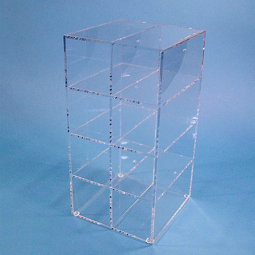 Cleanroom Safety Glass and Goggle Dispenser for 8-Pairs