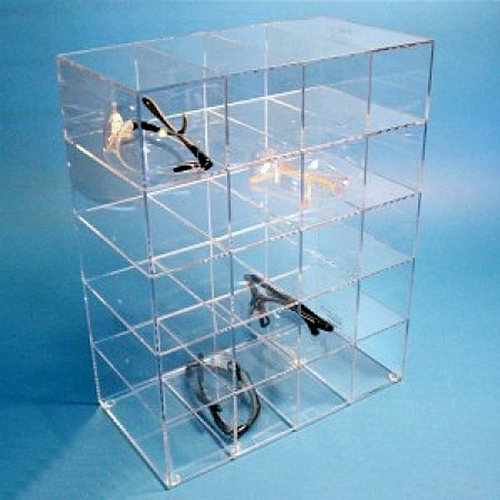 Cleanroom Safety Glass Dispenser for 20-Pairs