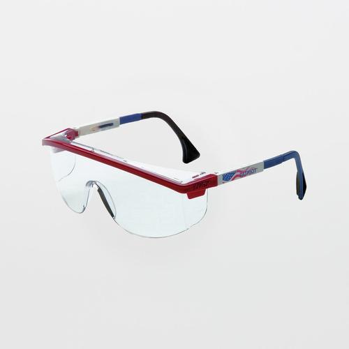 UVEX Astrospec 3000 Patriot RWB Clear Safety Glasses (Anti-Fog)