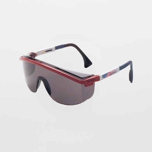UVEX Astrospec 3000 Patriot RWB Gray Safety Glasses (Anti-Scratch)