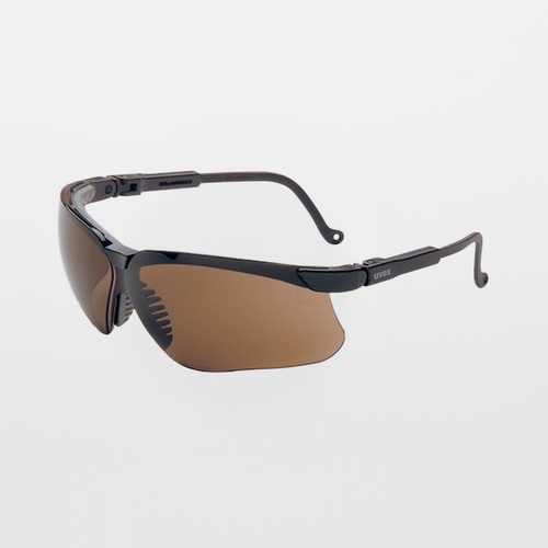 UVEX Genesis Espresso Safety Glasses (Anti-Scratch)