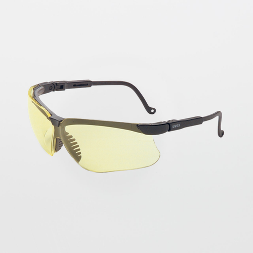 UVEX Genesis Amber Safety Glasses (Anti-Scratch)