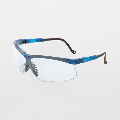 UVEX Genesis Vapor Blue Clear Safety Glasses (Anti-Scratch)