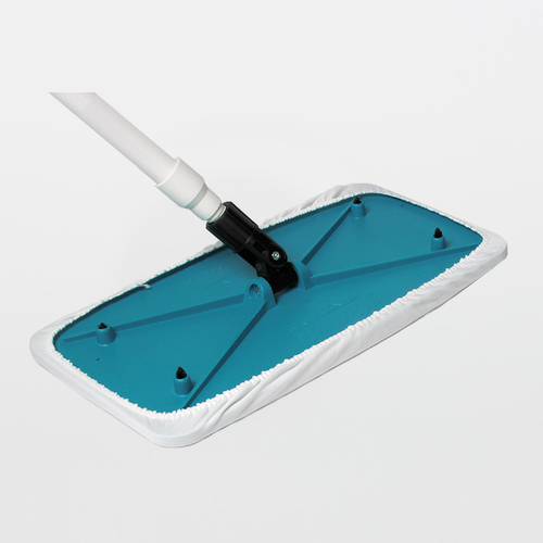 TX7108 AlphaMop Polyester Cleanroom Mop with Fiberglass Handle
