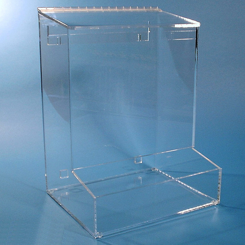 """12""""W x 16.5""""H x 10""""D - Cleanroom Dispenser with Front Tray"""