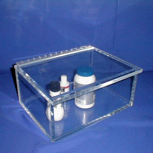 "11""W x 5""H x 8""D - Cleanroom Laboratory Beta Storage Container"