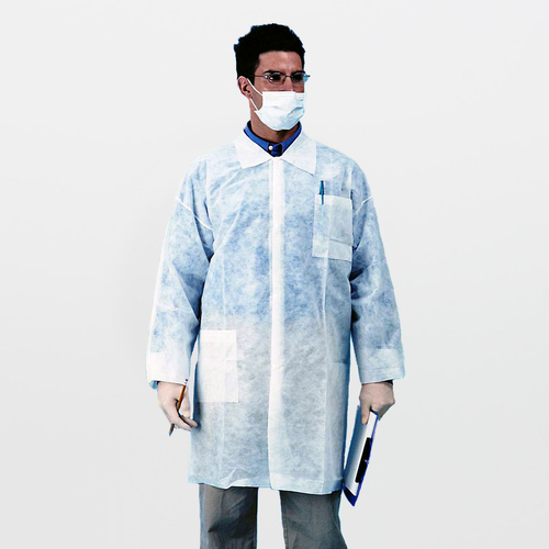 Polypropylene Lab Coat (3 Pockets)