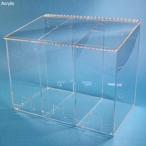 "21""W x 16""H x 12""D - Cleanroom 3-Compartment Dispenser"