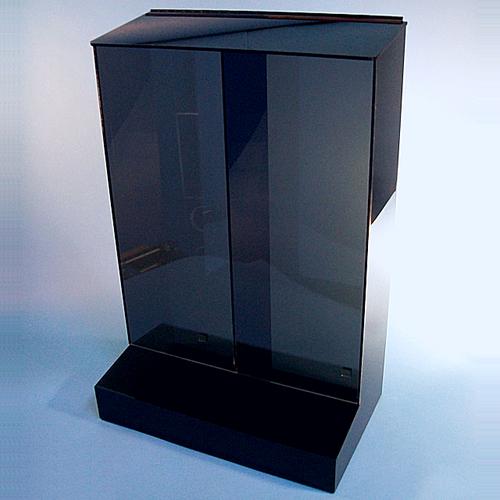 """20""""W x 30""""H x 12""""D - Cleanroom 2-Compartment Dispenser with Front Tray"""