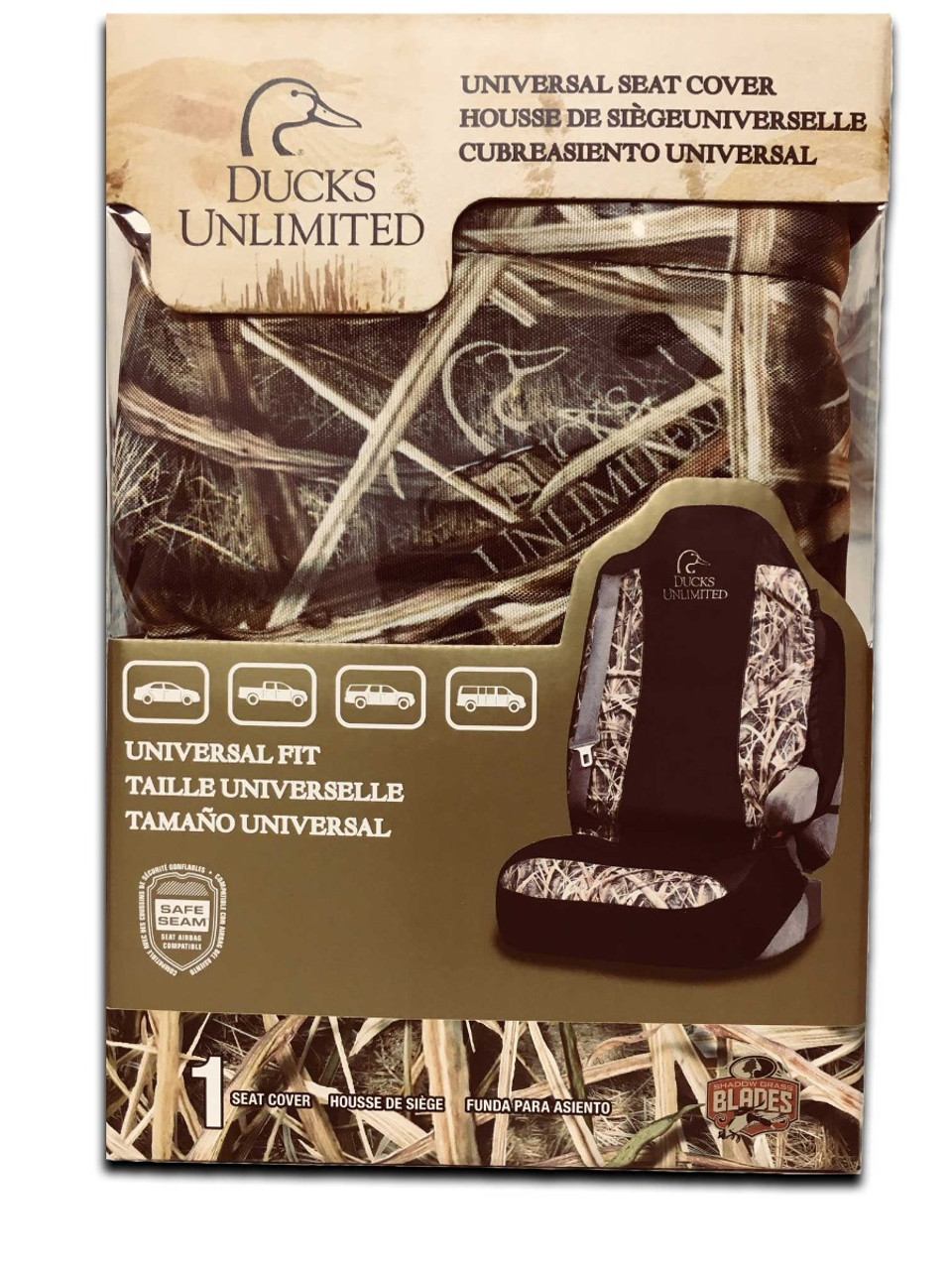 Ducks Unlimited Seat Covers >> Du Universal Seat Cover