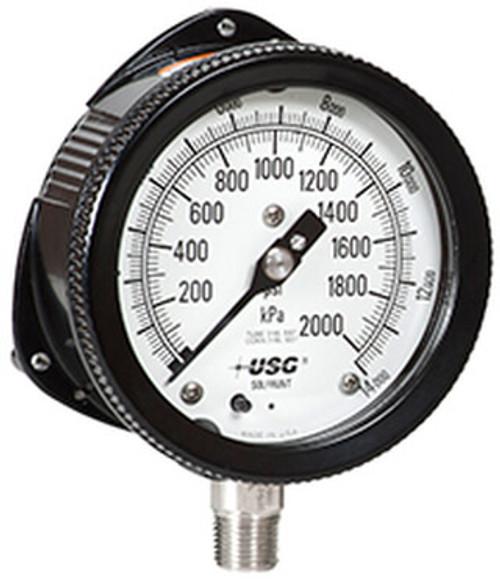 process gauge, pressure gauge, us gauge, wall mount pressure gauge, wall mount process gauge, stem mount pressure gauge, stem mount process gauge, aluminum pressure gauge, aluminum process gauge
