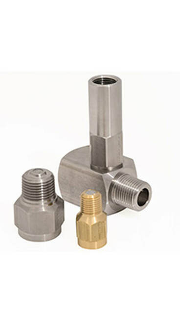 "Snubber 1/4"" Brass, Liquid Applications"