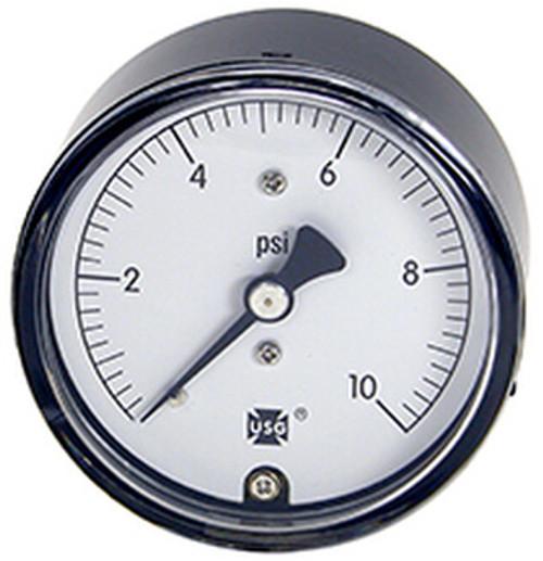 734 Low Pressure Gauge, 0 - 10 PSI (161971A)