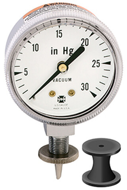 V534 Canners Vacuum Gauge, 0 - 30 IN HG (050462A)
