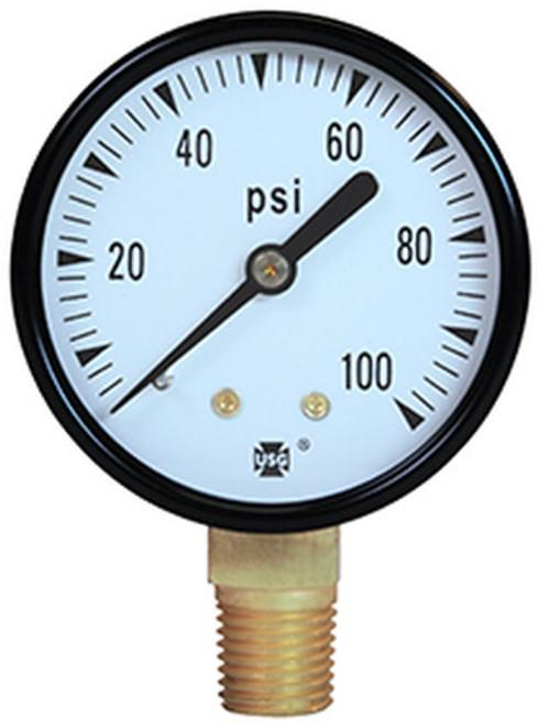 500 Low Lead  Gauge | 0 - 100 PSI (163273NL)