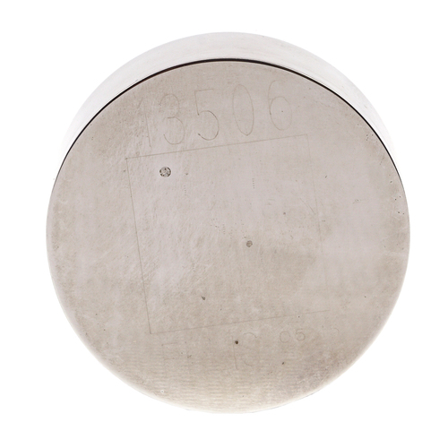 Knoop Test Block, Microhardness Testing, 350 @ 200 gram load
