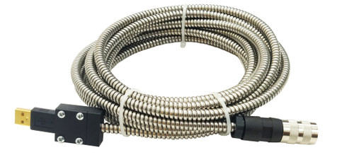 Armored USB Scan Head Extension Cable