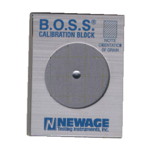 B.O.S.S. Calibration Block w/cert