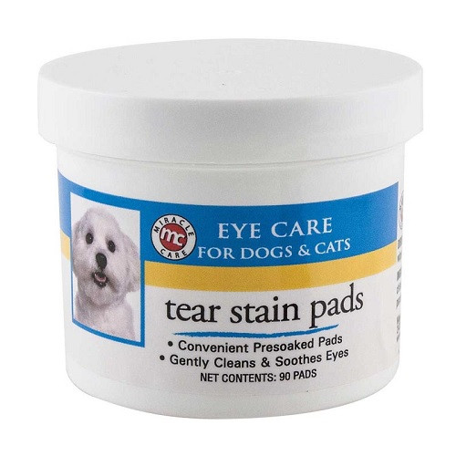 Miracle Care - Eye Clear - Tear Stain Pads, 90 Count  Jar