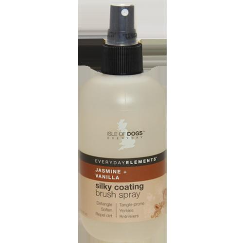 Isle of Dogs - Everyday Silky Coating Brush Spray, Jasmine + Vanilla 8.4oz (250ml)