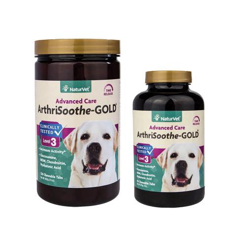 NaturVet ArthriSoothe-GOLD Time Release Tablets