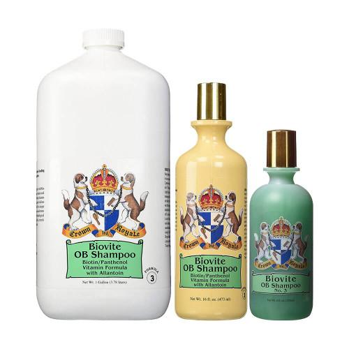 Crown Royale Biovite Formula 3 Shampoo