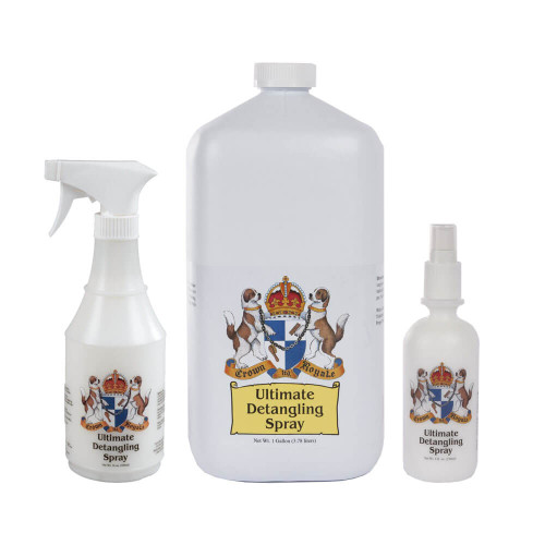 Crown Royale Ultimate Detangling Spray Ready-to-Use