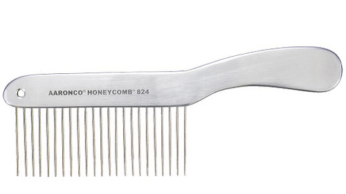 "Aaronco - Aluminum Honeycomb Long Hair, COARSE 23 TEETH 1 3/4"" LONG (AA824)"