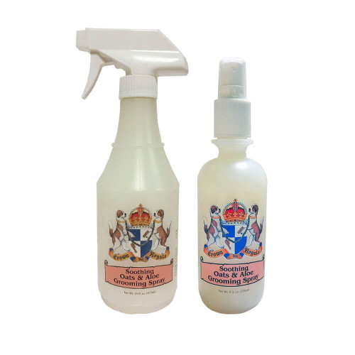 Crown Royale Soothing Oats and Aloe Grooming Spray