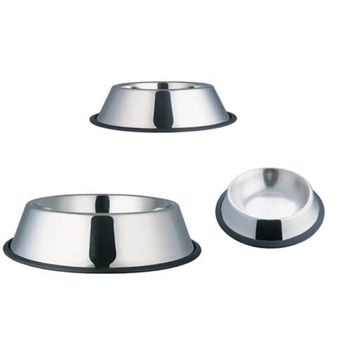 Stainless Steel No Tip Dish