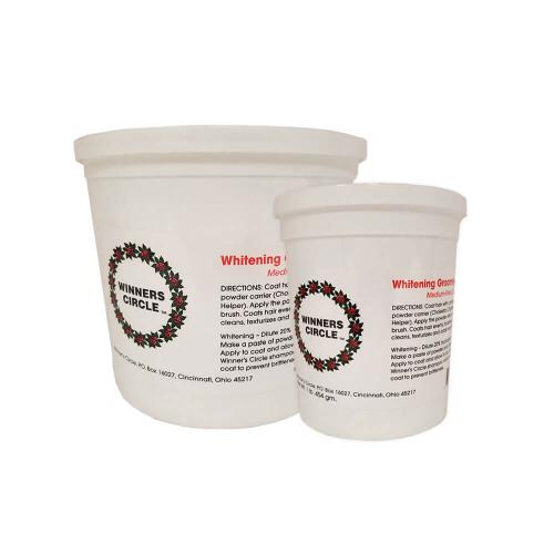 Winner's Circle Whitening Powder for Medium-Fine Coats