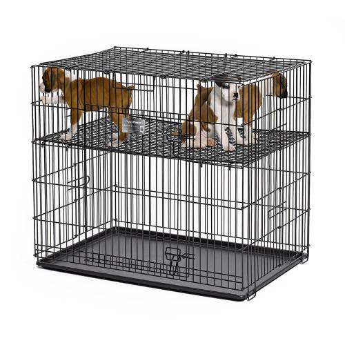 MidWest Puppy Playpen with Half Inch Adjustable Floor