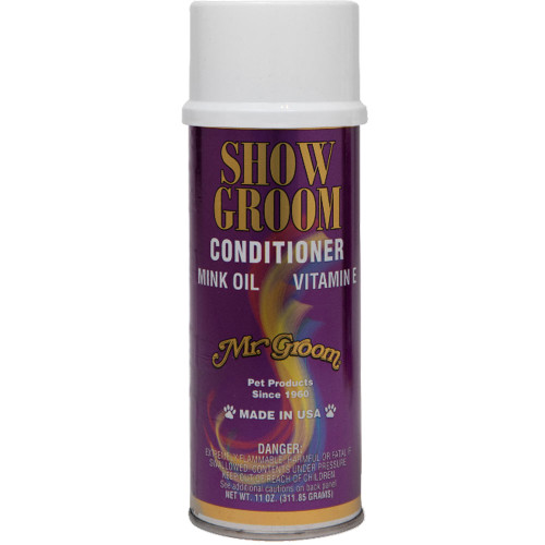 Mr Groom Show Groom Conditioner aerosol 11oz
