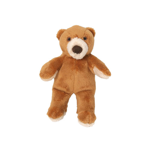 "Fluff and Tuff Cubby Bear 5"" Dog Toy"