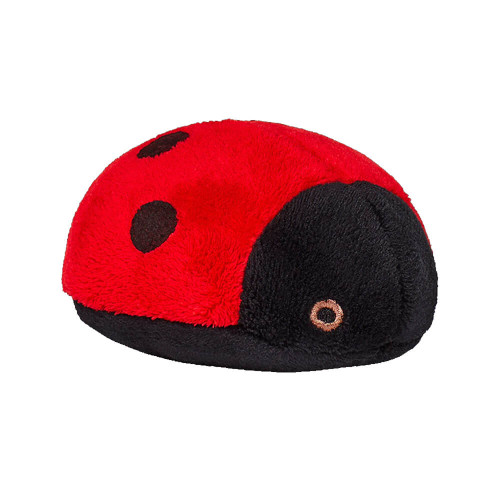 """Fluff and Tuff Lady the Bug 4.5"""" Dog Toy"""